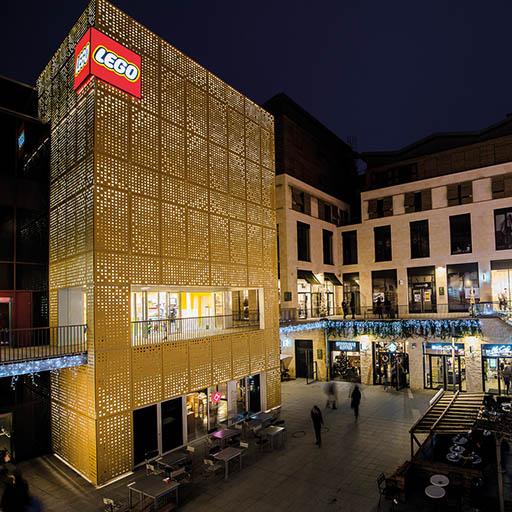 Luminat Eclairage - Référence ATEA éclairage LEGO NewYork