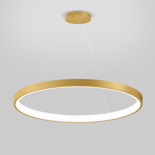 Luminaire suspension cercle or XAL