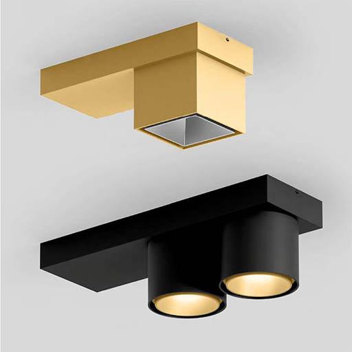 Luminaire XAL or ou noir