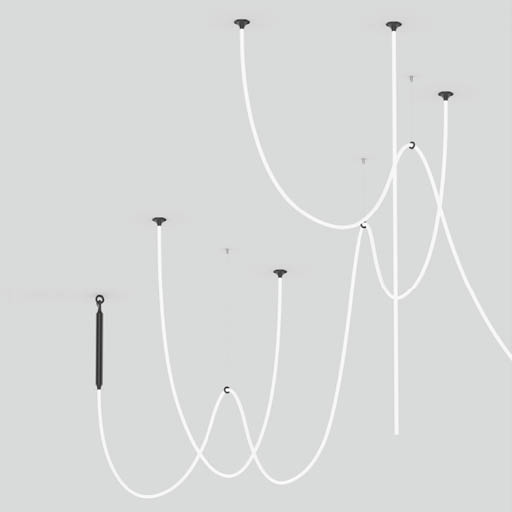 suspension tubulaire souple XAL luminaire