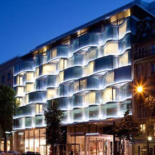 Référence Eclairage ATEA - Hotel Marriot